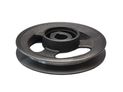 Single groove drive pulley